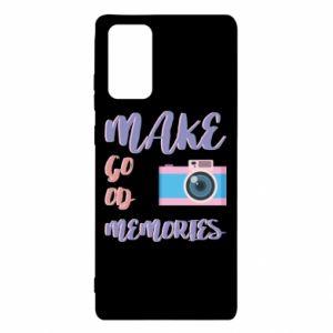 Etui na Samsung Note 20 Make good memories
