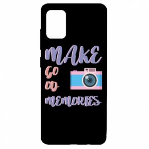 Etui na Samsung A51 Make good memories