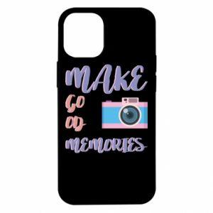 Etui na iPhone 12 Mini Make good memories