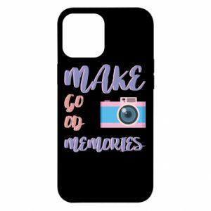Etui na iPhone 12 Pro Max Make good memories