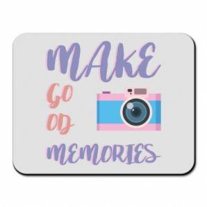 Mouse pad Make good memories