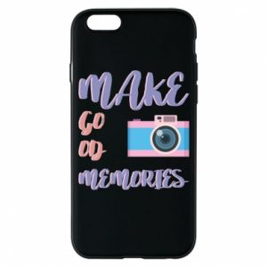 Etui na iPhone 6/6S Make good memories