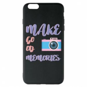 Etui na iPhone 6 Plus/6S Plus Make good memories