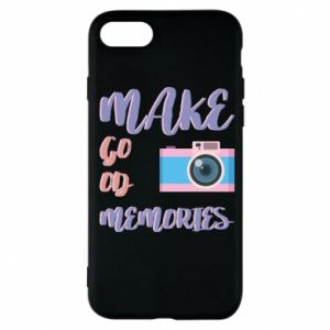 Etui na iPhone 7 Make good memories