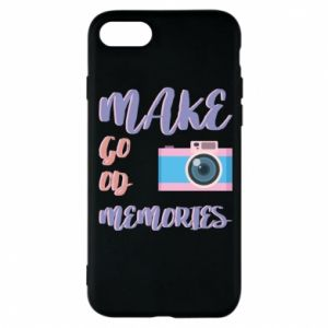 Etui na iPhone 8 Make good memories