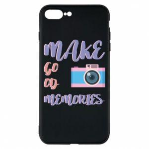 Etui na iPhone 8 Plus Make good memories