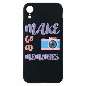 Etui na iPhone XR Make good memories