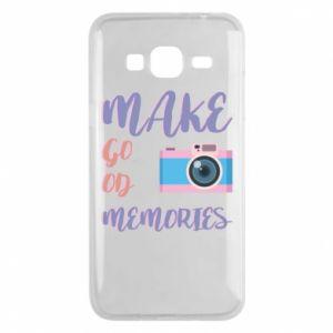 Etui na Samsung J3 2016 Make good memories