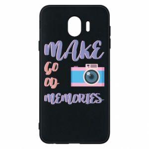Etui na Samsung J4 Make good memories