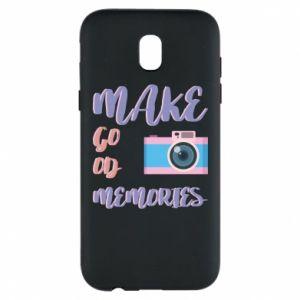 Etui na Samsung J5 2017 Make good memories