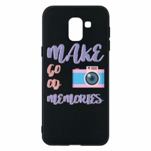 Etui na Samsung J6 Make good memories
