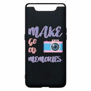 Etui na Samsung A80 Make good memories