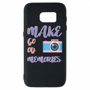 Etui na Samsung S7 Make good memories