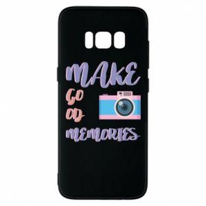 Etui na Samsung S8 Make good memories