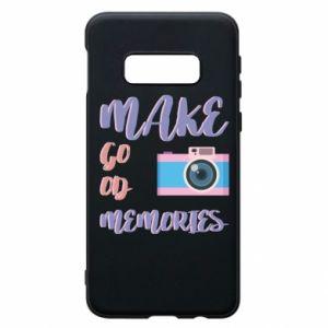 Etui na Samsung S10e Make good memories