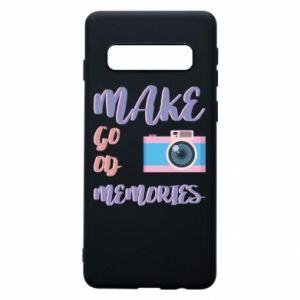 Etui na Samsung S10 Make good memories