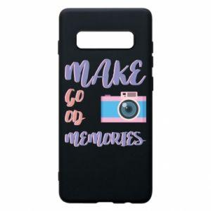 Etui na Samsung S10+ Make good memories