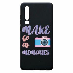 Etui na Huawei P30 Make good memories