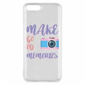 Etui na Xiaomi Mi6 Make good memories