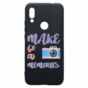 Etui na Xiaomi Redmi 7 Make good memories