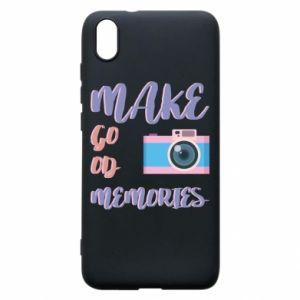Etui na Xiaomi Redmi 7A Make good memories