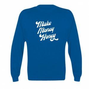 Bluza dziecięca Make money honey