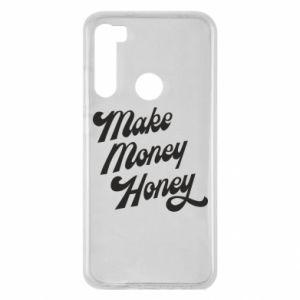 Etui na Xiaomi Redmi Note 8 Make money honey