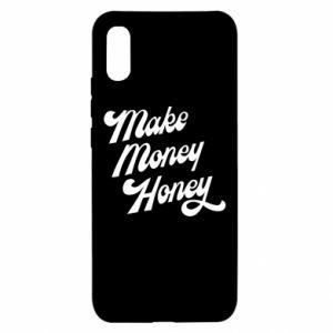 Etui na Xiaomi Redmi 9a Make money honey