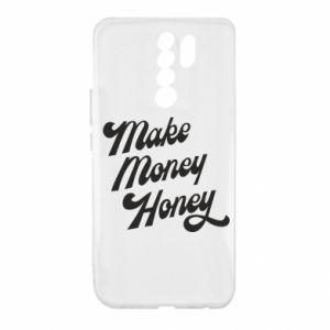 Etui na Xiaomi Redmi 9 Make money honey