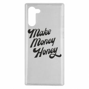 Etui na Samsung Note 10 Make money honey