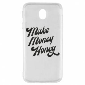 Etui na Samsung J7 2017 Make money honey