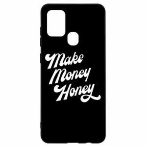 Etui na Samsung A21s Make money honey