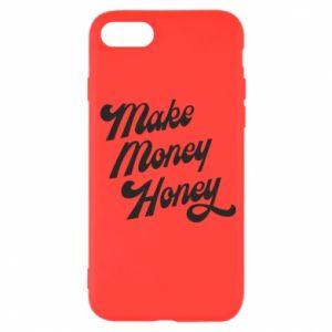 Etui na iPhone SE 2020 Make money honey