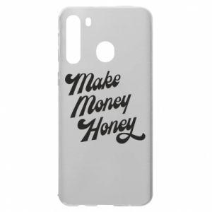 Etui na Samsung A21 Make money honey
