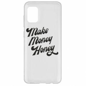 Etui na Samsung A31 Make money honey