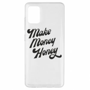 Etui na Samsung A51 Make money honey