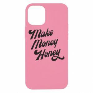 Etui na iPhone 12 Mini Make money honey