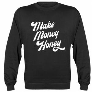 Bluza (raglan) Make money honey