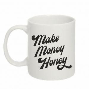 Kubek 330ml Make money honey