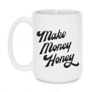 Kubek 450ml Make money honey