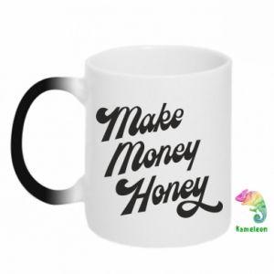 Kubek-kameleon Make money honey