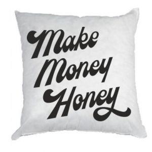 Poduszka Make money honey