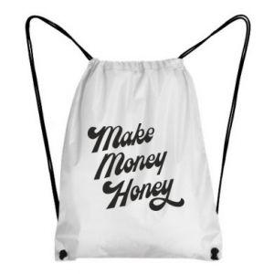 Plecak-worek Make money honey