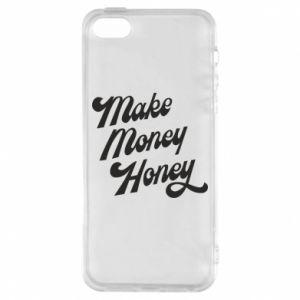 Etui na iPhone 5/5S/SE Make money honey
