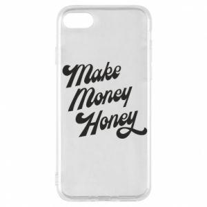 Etui na iPhone 7 Make money honey