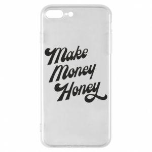 Etui na iPhone 8 Plus Make money honey