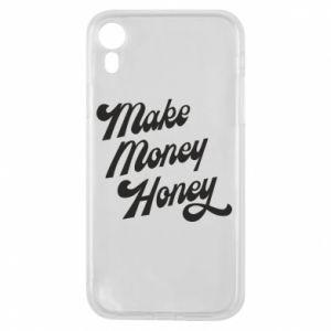 Etui na iPhone XR Make money honey