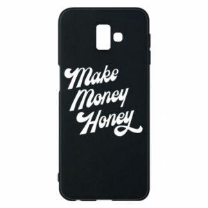 Etui na Samsung J6 Plus 2018 Make money honey