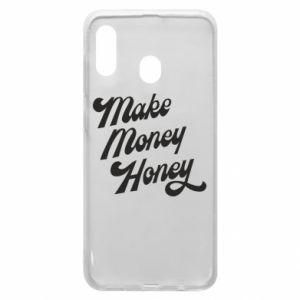 Etui na Samsung A20 Make money honey