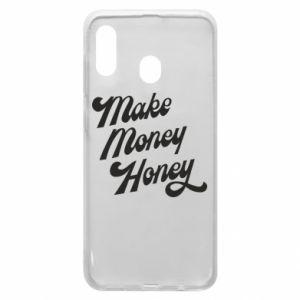 Etui na Samsung A30 Make money honey